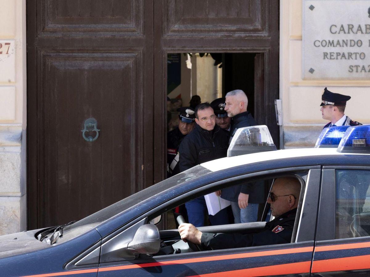 Foto: Comisaría de los carabineros en Italia (EFE)