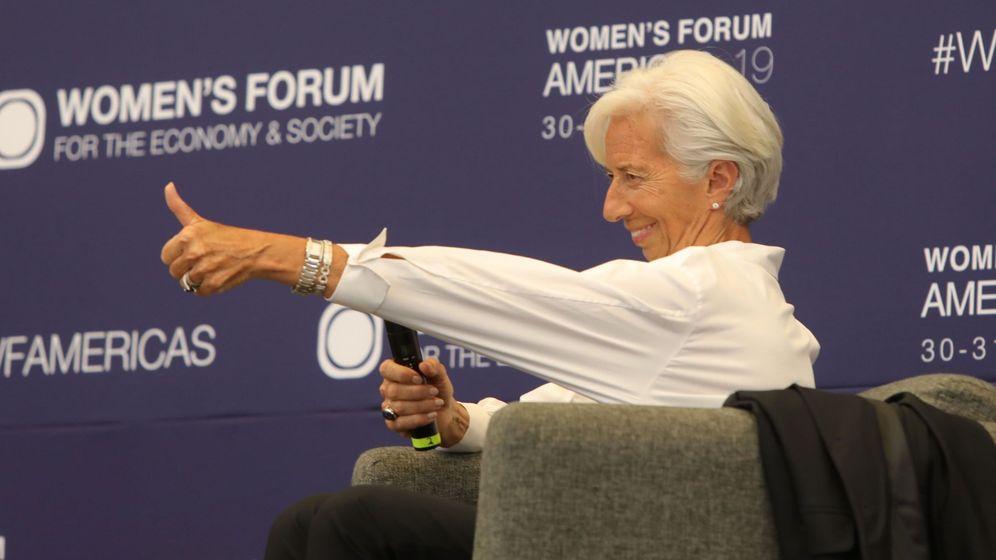 Foto: La directora gerente del Fondo Monetario Internacional (FMI), Christine Lagarde. (EFE)