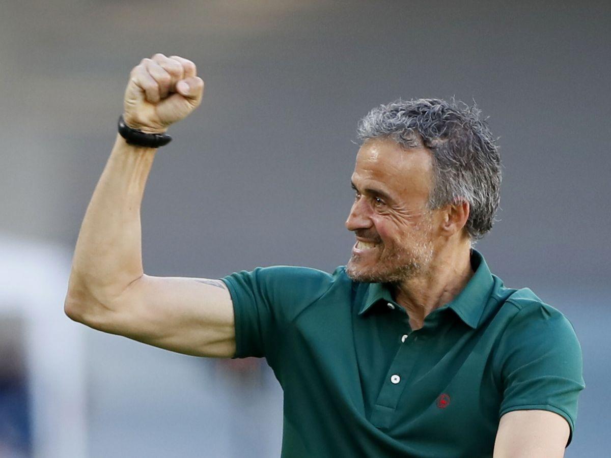 Foto: Luis Enrique, en la Eurocopa. (Reuters)