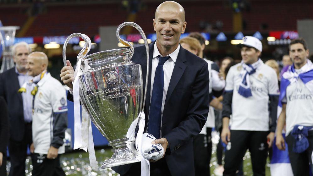 Foto: Zidane ya ha ganado más Copas de Europa como entrenador que como jugador. (Reuters)