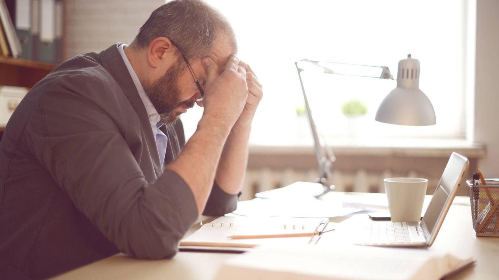 Foto: La vida laboral puede desesperar a cualquiera. (iStock)