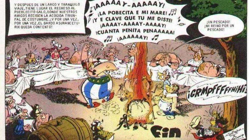 Foto: La fiesta y los ole continuos son casi los protagonistas de 'Astérix en Hispania'.