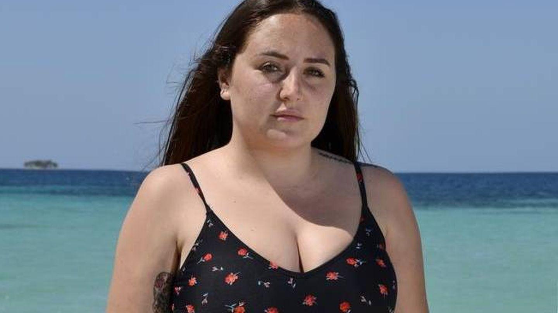Rocío Flores, en 'Supervivientes'. (Mediaset)