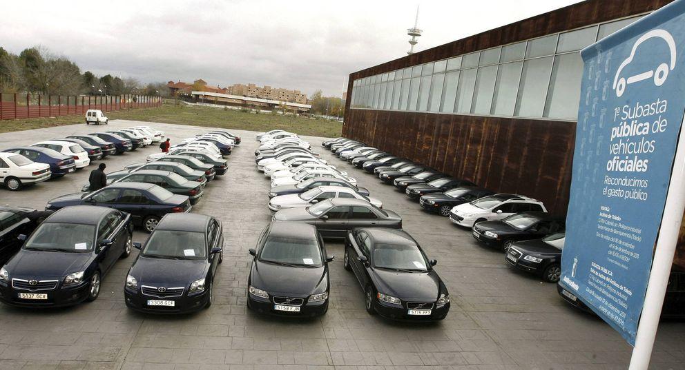 Subasta de coches oficiales en Castilla-La Mancha. (EFE)