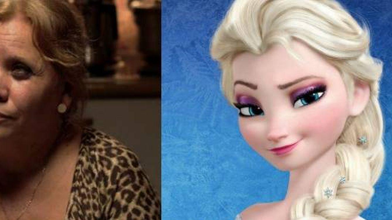 Carmina Barrios enseña a maquillarse como Elsa de 'Frozen'