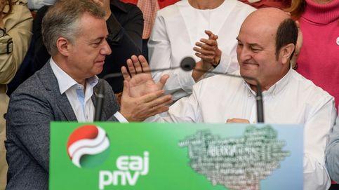 El PNV enfila cuatro años de Urkullu-Ortuzar con histórica cota de poder
