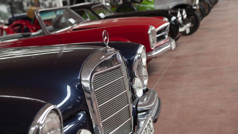 Algunos de los coches a subasta. (IAG Auction)