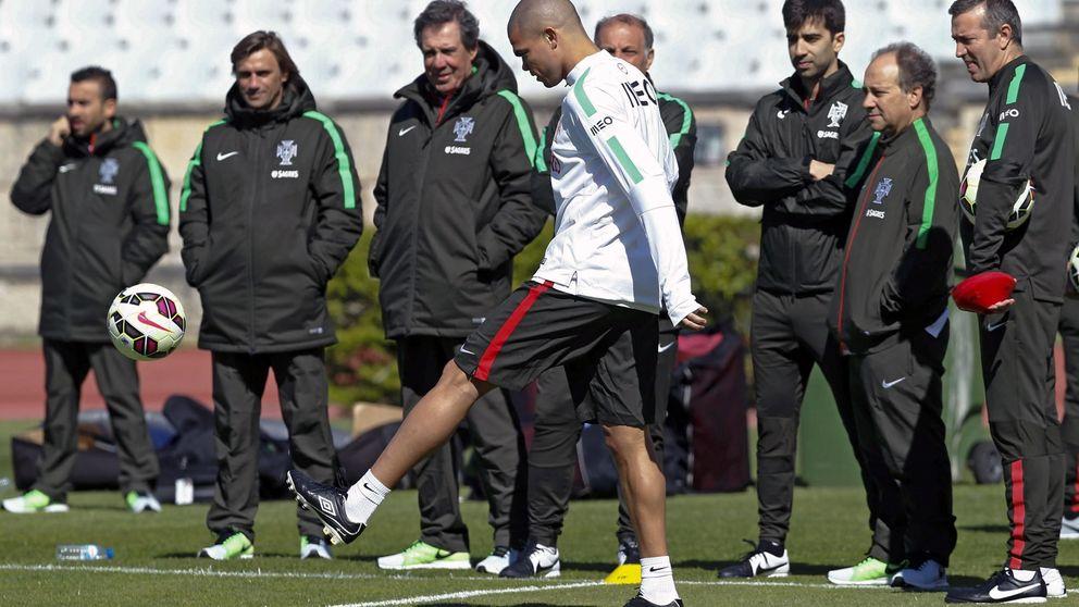 Pepe sufre una lesión muscular  y está pendiente de evolución