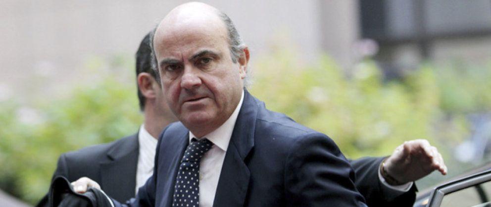 Foto: Guindos dice que el Gobierno y el BdE aplicarán la ley tras anulación de indulto de Sáenz
