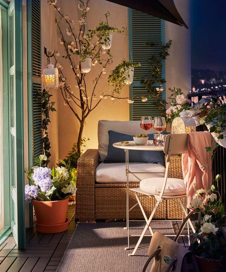 Decora una terraza, un jardín o un pequeño balcón con estas