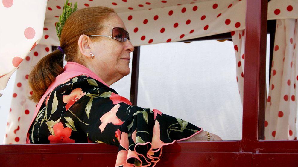 Foto: Doña Ana, madre de Isabel Pantoja. (Lagencia Grosby)