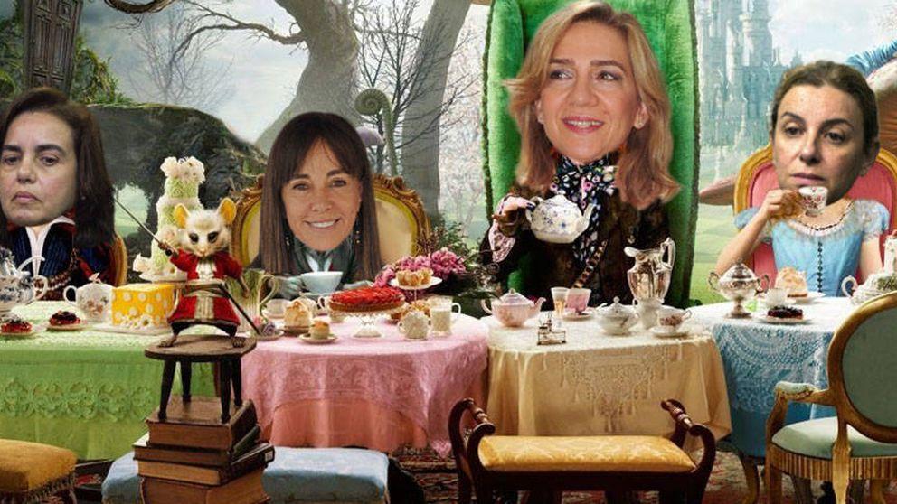 Cristina, Ana María, Elisa y Mercedes, las 'inmaculadas' de Nóos