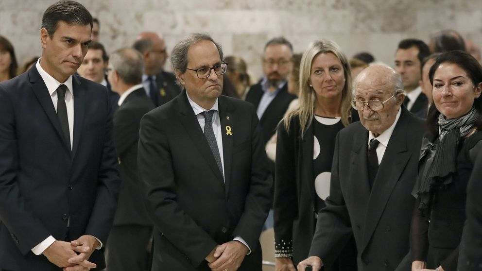 De Sánchez a Casado pasando por Torra: el adiós a Caballé reúne a los principales políticos