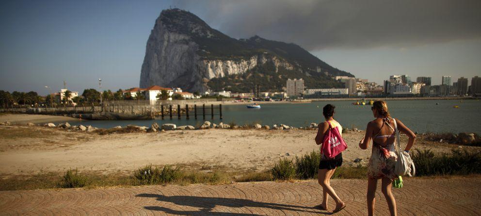 Foto: Vista del Peñón de Gibraltar (Reuters)