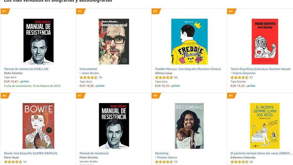 Foto: Las ventas de Amazon.