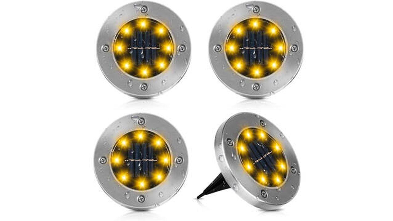 Luces LED Vivibel de acero inoxidable para la tierra