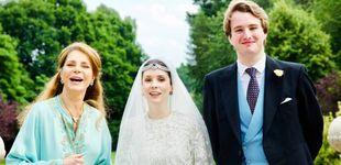 Post de La boda real confinada de la hija de la reina Noor de Jordania