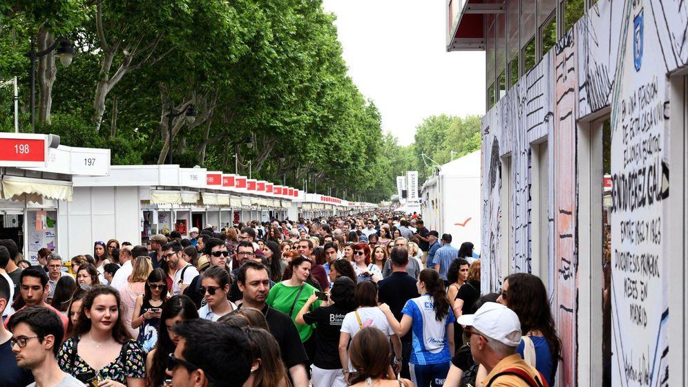 Foto: La Feria del Libro de Madrid, en 2019 (EFE)