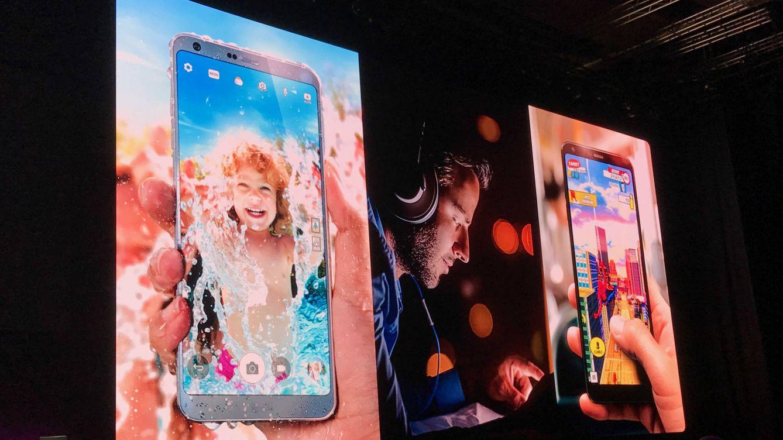 Todo pantalla (y sin módulos): este es el 'smartphone' estrella de LG contra Samsung