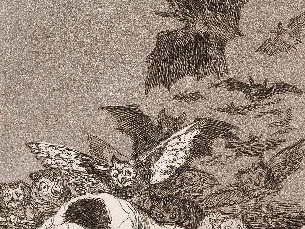 Foto: 'El sueño de la razón produce monstruos', de Francisco de Goya.