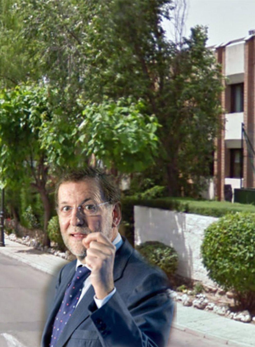 Foto: La casa de 1,5 millones de euros que Mariano Rajoy tiene en Aravaca