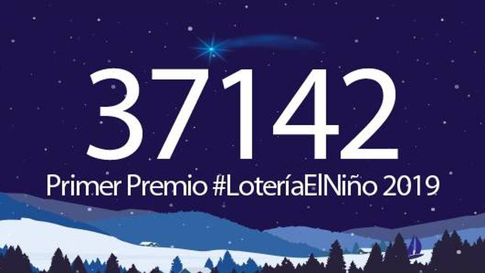 Salió el primer premio de la Lotería del Niño: el 37.142 reparte 200.000 euros al décimo