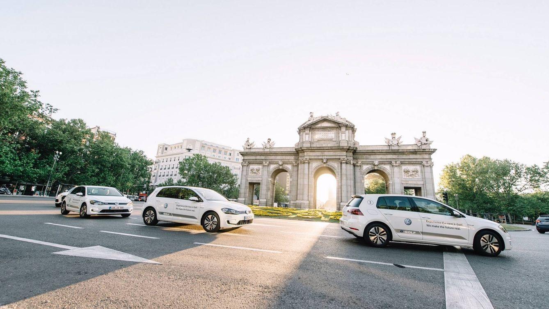 Los madrileños ya pueden probar el nuevo Volkwagen Golf eléctrico