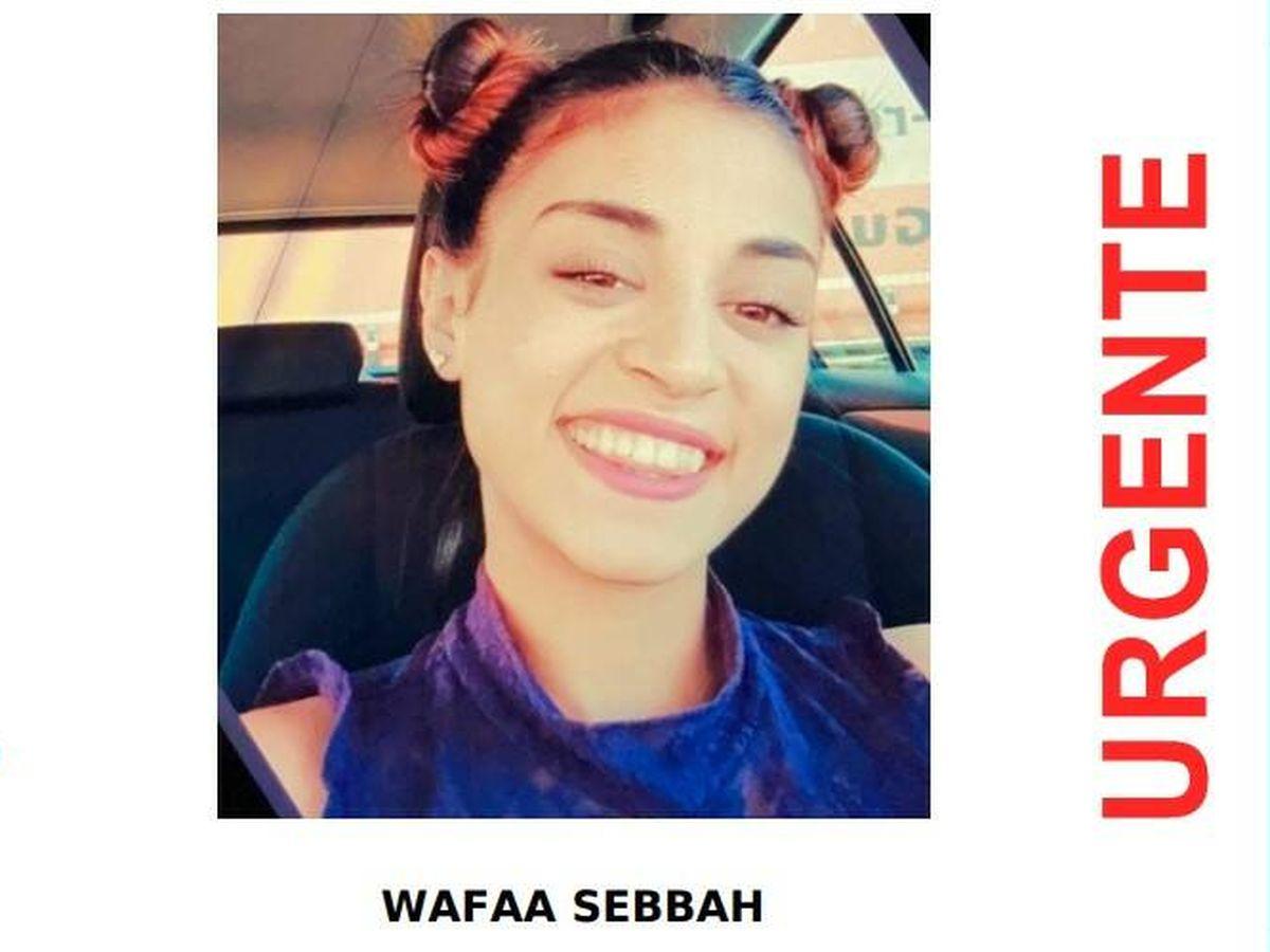 Foto: Wafaa Sebbah, desaparecida en noviembre de 2019. Foto: SosDesaparecidos