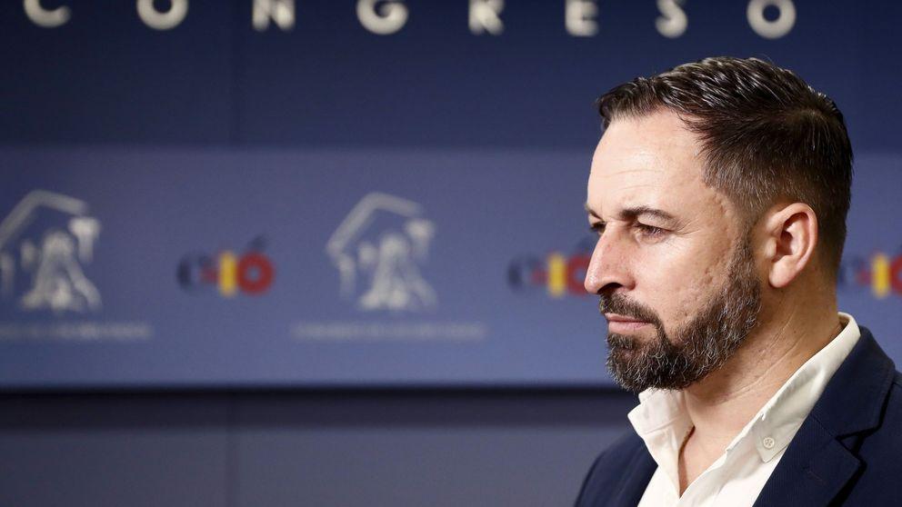 Abascal rechaza expulsar a Serrano tras la polémica por la sentencia de 'La Manada'