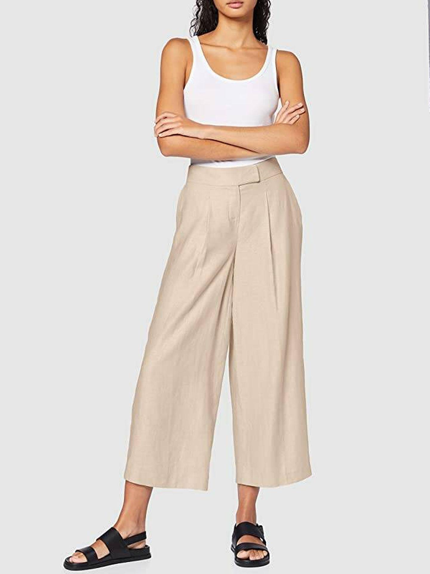 Pantalón culotte de Find. (Cortesía)