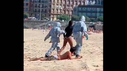 Una joven positiva en covid-19 es detenida por saltarse el confinamiento para hacer surf