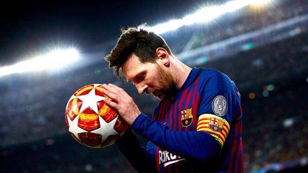 Foto: Leo Messi, durante un partido de la Champions League con el FC Barcelona. (EFE)