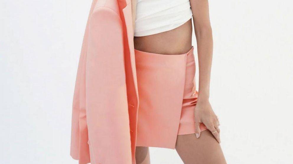 Esta falda bermuda de Zara hará que te olvides de tus pantalones más elegantes