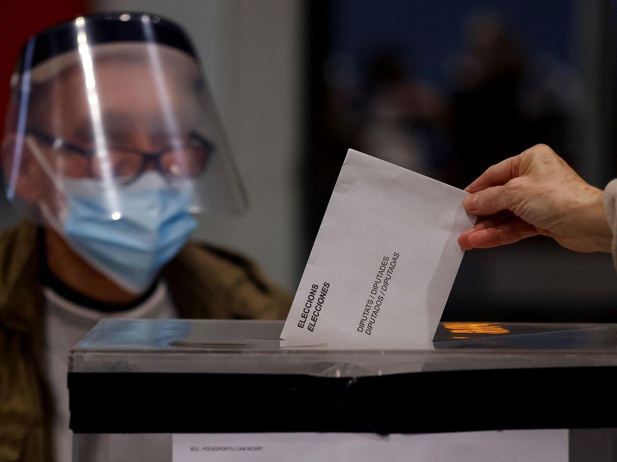 Foto: Elecciones catalanas. (EFE)