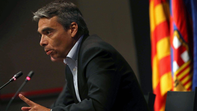 En la imagen, Albert Soler, durante una rueda de prensa. (EFE)