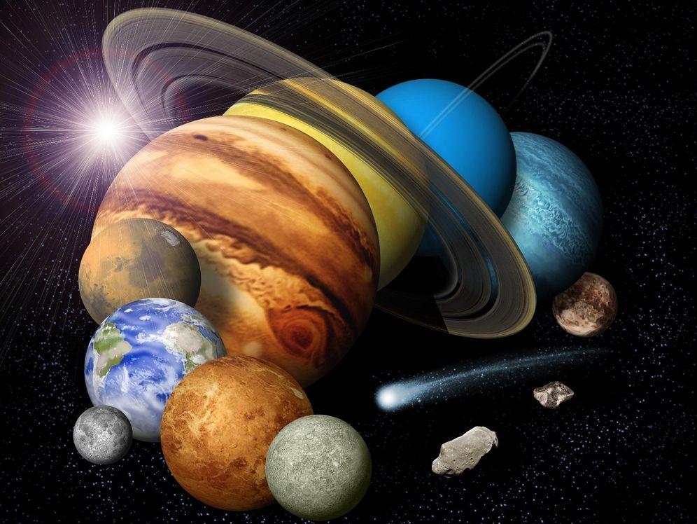 astronomía por qué venus es amarillo y urano es verde los colores