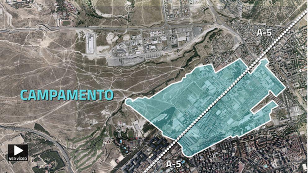 Chamartín, Campamento, Mahou: el ladrillo se la juega antes de mayo