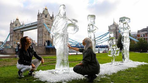 Animales de chocolate y esculturas de hielo en Londres: el día en fotos