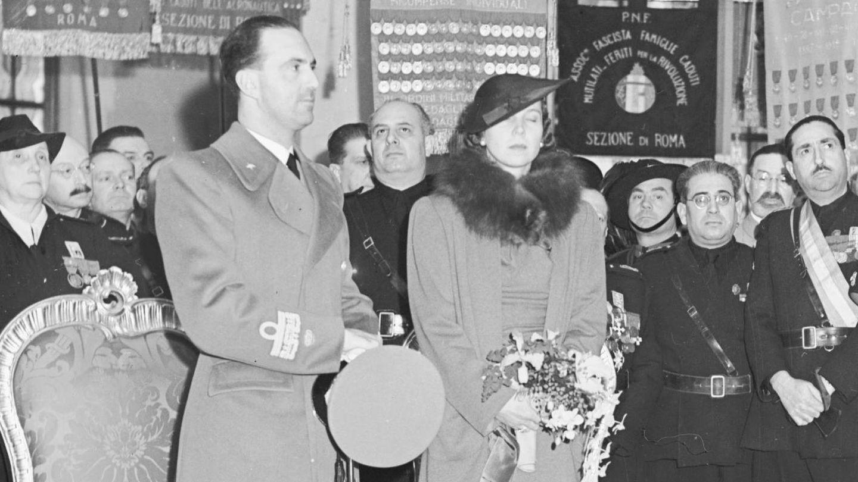 María José y Humberto II. (Cordon Press)
