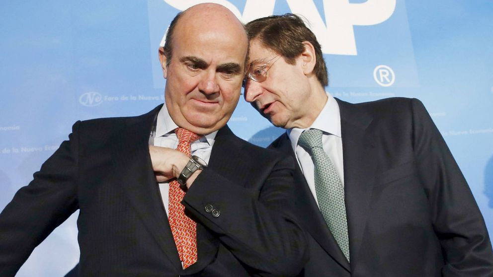 Guindos culmina su último guiño para ir al BCE con la venta del 7% de Bankia