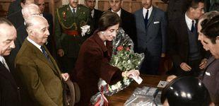 Post de Primeraa imágenes, en color, de los españoles votando en la dictadura