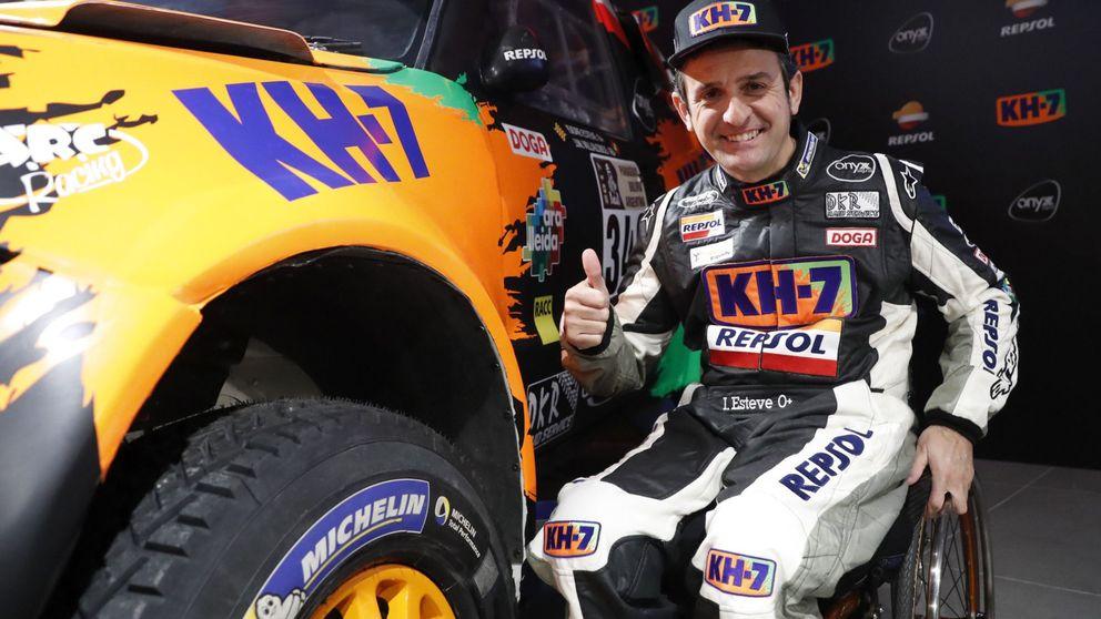 Isidre Esteve y el invento que le permite disputar el Dakar en silla de ruedas