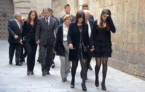 Multitudinaria despedida a Tito Vilanova en la catedral de Barcelona