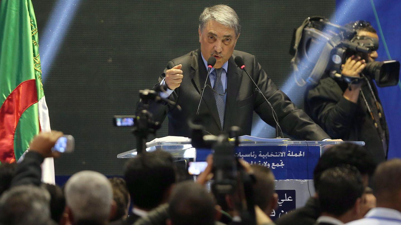 El principal candidato opositor Ali Benflis (Reuters)
