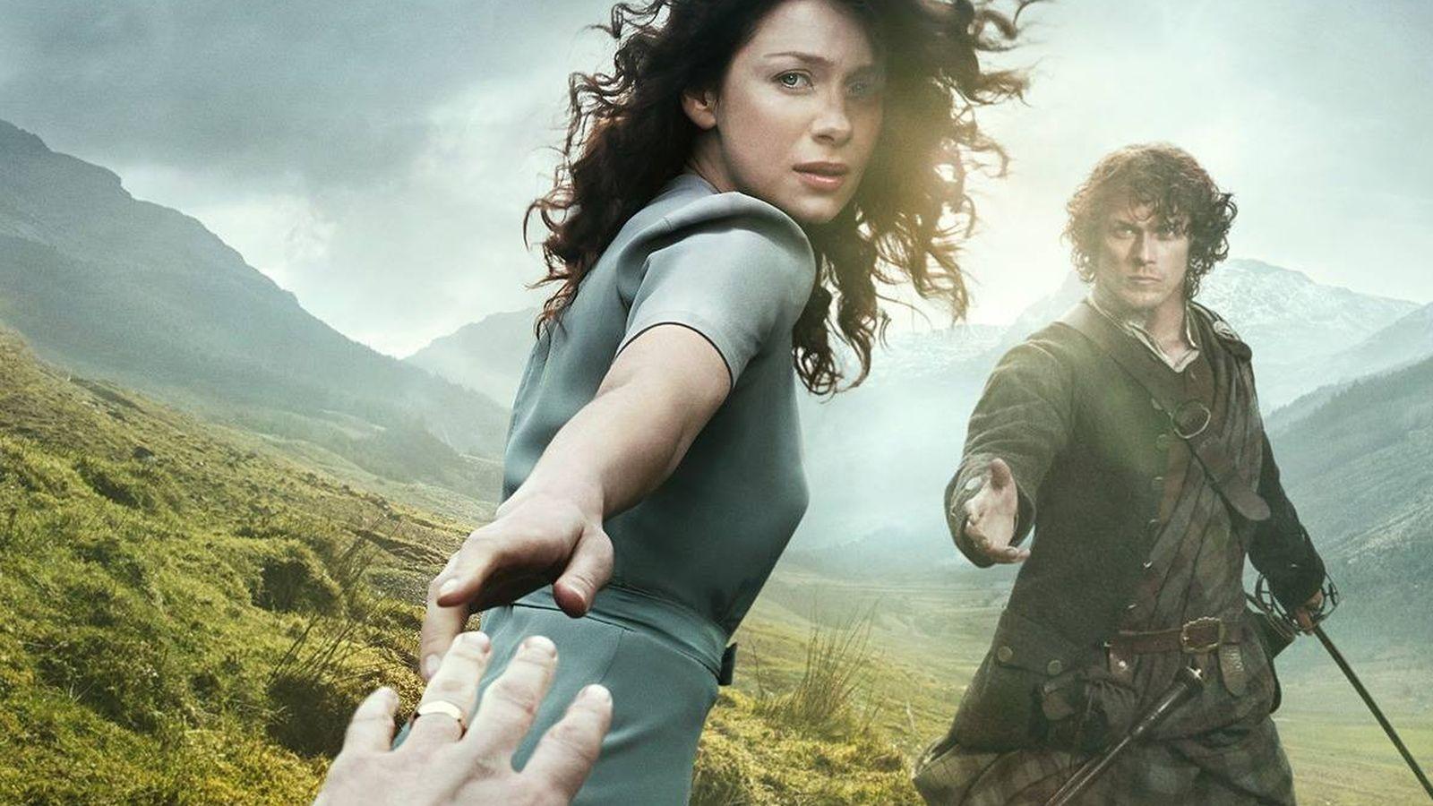 Foto: Imagen promocional de 'Outlander'. (Starz)