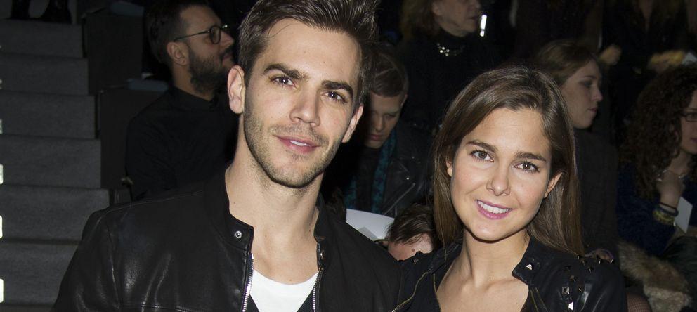 Foto: Marc Clotet y Natalia Sánchez el pasado mes de febrero en Cibeles