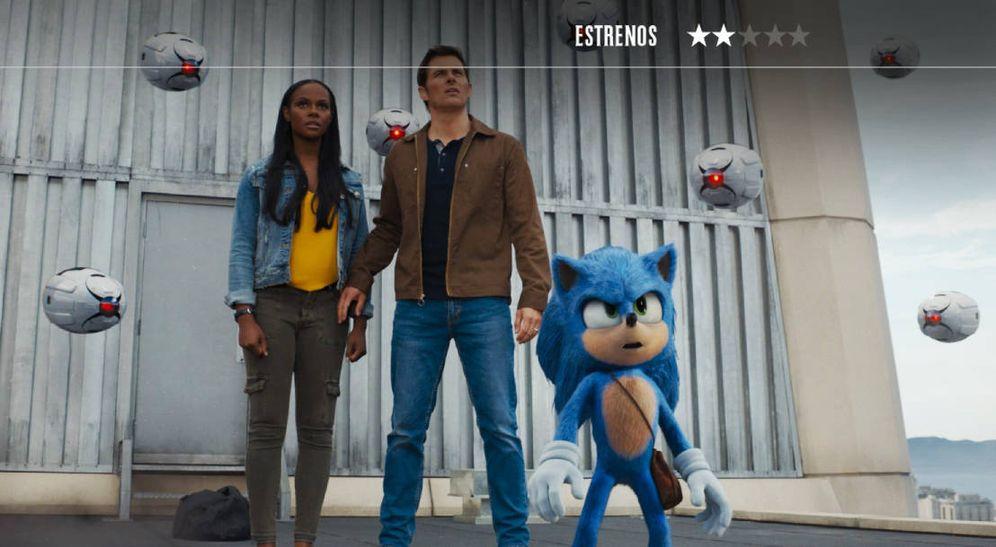 Foto: James Marsden se pregunta qué hace en 'Sonic'. (Paramount)
