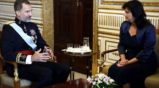 La embajadora de Eslovenia en España no tiene ganas de hablar de Cataluña