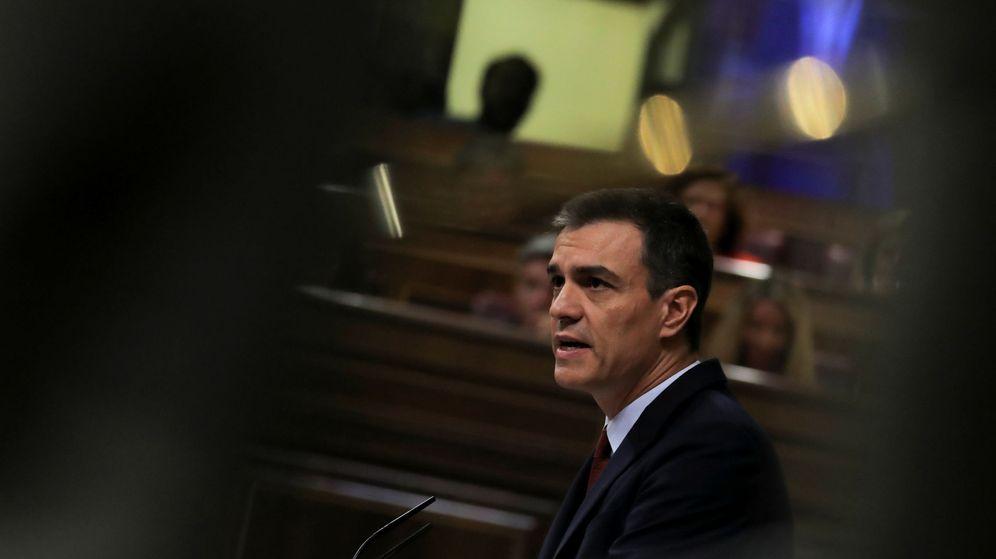 Foto: Pedro Sánchez, durante el debate de investidura de julio de 2019 (Reuters)