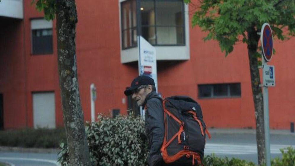 Foto: Imagen de Josu Ternera, justo antes de la detención. (EC)